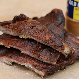 King Size Baby Back Barbecue Ribs